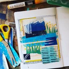 Sketchbook seascape