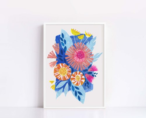 Bloom Bright - Inspired by the brightest blooms of the summer